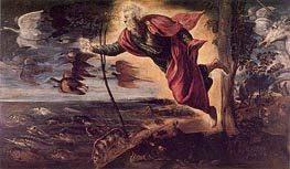 The Creation of the Animals, c.1551/52 von Tintoretto | Gemälde-Reproduktion