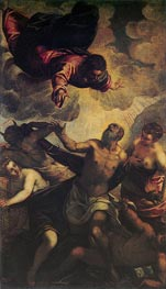 The Temptation of St. Anthony | Tintoretto | Gemälde Reproduktion