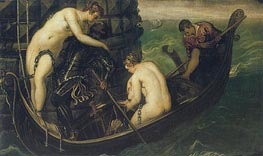 The Liberation of Arsinoe | Tintoretto | Painting Reproduction
