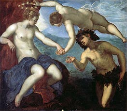 The Discovery of Ariadne | Tintoretto | Painting Reproduction
