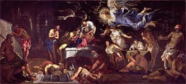 St. Roch Visited by an Angel in Prison | Tintoretto | Painting Reproduction