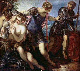 Minerva Repelling Mars | Tintoretto | Painting Reproduction
