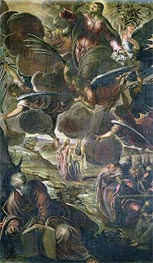 The Ascension of Christ, Undated von Tintoretto | Gemälde-Reproduktion