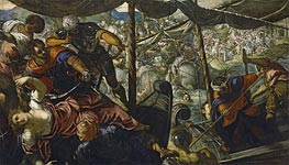 The Abduction of Helen, c.1578 von Tintoretto | Gemälde-Reproduktion