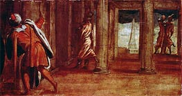 The Prostration of Bathsheba, c.1548 von Tintoretto | Gemälde-Reproduktion