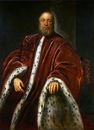 A Procurator of Saint Mark's | Tintoretto | Painting Reproduction