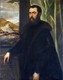 Portrait of a Venetian Senator | Tintoretto | Painting Reproduction