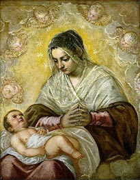 The Madonna of the Stars | Tintoretto | Painting Reproduction