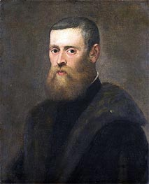 Portrait of a Man | Tintoretto | Painting Reproduction