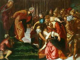 Esther before Ahasuerus | Tintoretto | Painting Reproduction