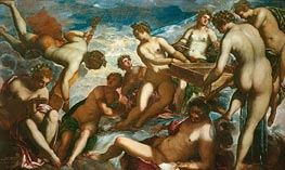 The Muses | Tintoretto | Painting Reproduction