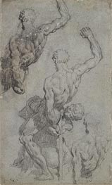 Samson and the Philistine, undated by Tintoretto | Painting Reproduction