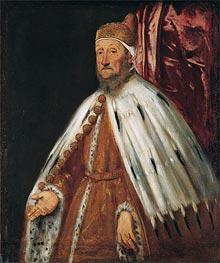 Portrait of Doge Pietro Loredan | Tintoretto | Painting Reproduction