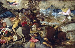 The Conversion of Saint Paul | Tintoretto | Painting Reproduction