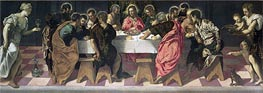 The Last Supper | Tintoretto | Painting Reproduction