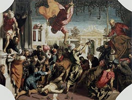 The Miracle of the Slave | Tintoretto | Painting Reproduction