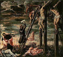 The Crucifixion of Christ | Tintoretto | Painting Reproduction