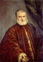 Portrait of Procurator Antonio Cappello | Tintoretto | Painting Reproduction