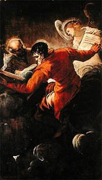 Evangelists Luke and Matthew | Tintoretto | Painting Reproduction