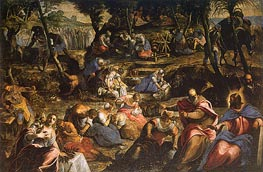 The Israelites in the Desert | Tintoretto | Painting Reproduction