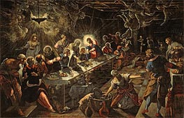 The Last Supper | Tintoretto | Gemälde Reproduktion