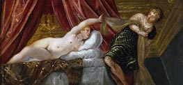 Joseph and the Wife of Potiphar | Tintoretto | Painting Reproduction