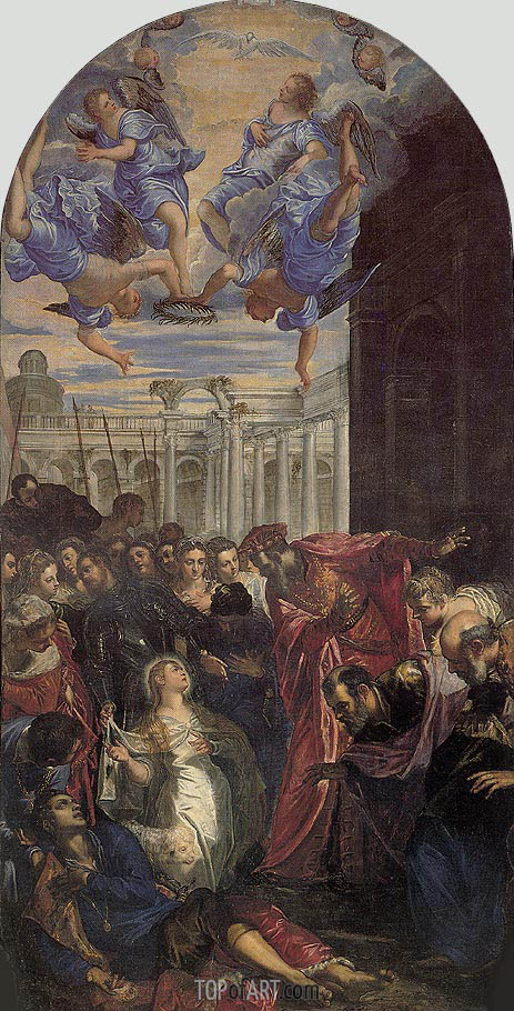 The Miracle of St. Agnes, c.1563 | Tintoretto | Gemälde Reproduktion
