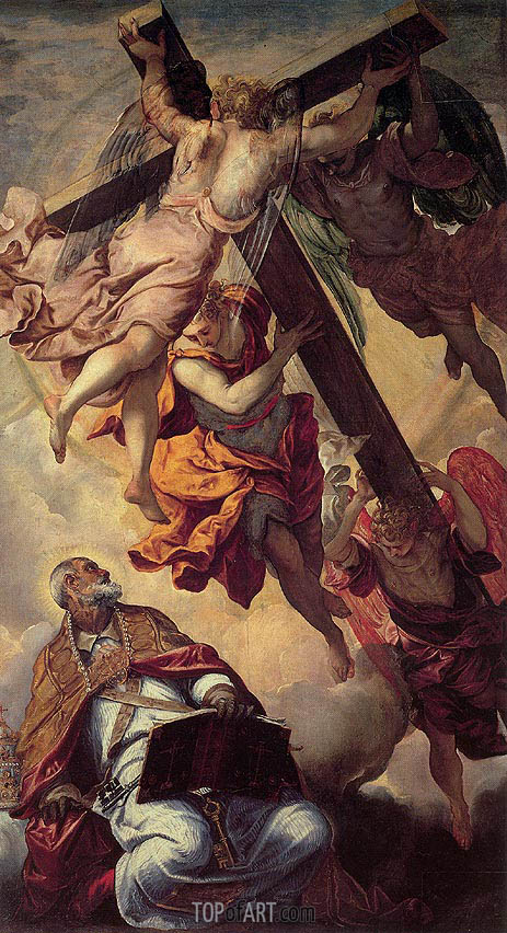 The Vision of St. Peter, c.1552 | Tintoretto | Painting Reproduction