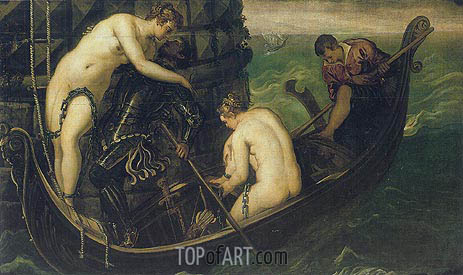 The Liberation of Arsinoe, c.1556 | Tintoretto | Painting Reproduction