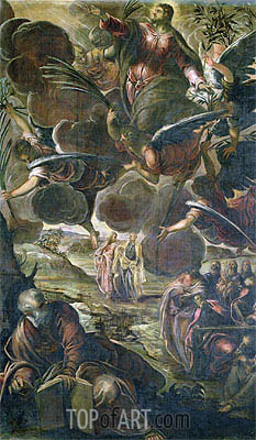 The Ascension of Christ, Undated   Tintoretto   Gemälde Reproduktion