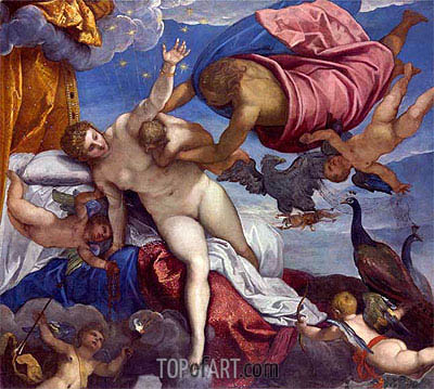 The Origin of the Milky Way, a.1575 | Tintoretto | Painting Reproduction