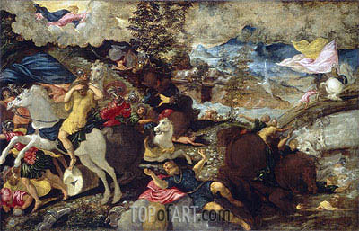The Conversion of Saint Paul, c.1545 | Tintoretto | Painting Reproduction