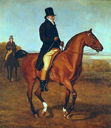 Lord Heathfield on Horseback, undated by Jacques-Laurent Agasse | Painting Reproduction