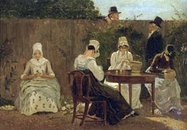 The Chalon Family in London | Jacques-Laurent Agasse | Painting Reproduction