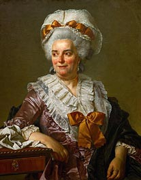 Genevieve Jacqueline Pecoul (the Painter's Mother-in-Law) | Jacques-Louis David | Painting Reproduction