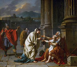 Belisarius Begging for Alms | Jacques-Louis David | Gemälde Reproduktion