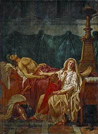 The Sorrow of Andromache | Jacques-Louis David | Painting Reproduction