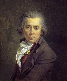 Self Portrait, 1791 by Jacques-Louis David | Painting Reproduction