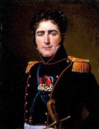 Portrait of Comte Henri-Amédée de Turenne, 1816 by Jacques-Louis David | Painting Reproduction