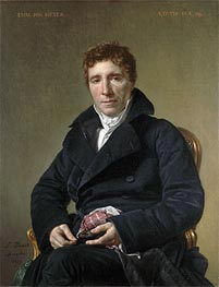 Emmanuel Joseph Sieyès, 1817 by Jacques-Louis David | Painting Reproduction