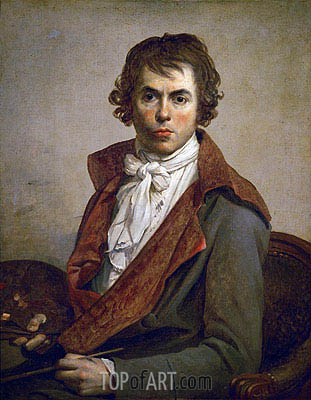 Self Portrait, 1794 | Jacques-Louis David | Painting Reproduction
