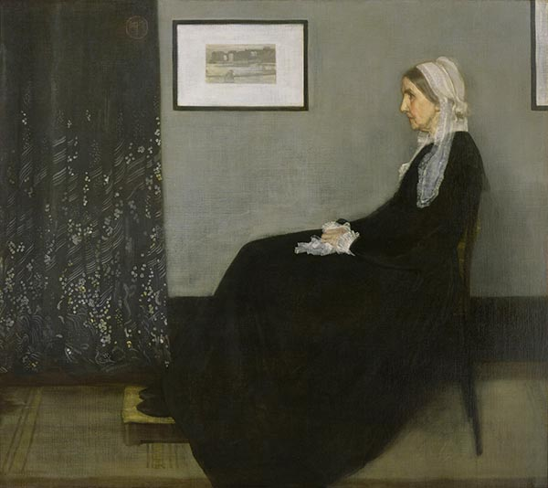 Whistler's Mother, c.1834 | James McNeill Whistler | Painting Reproduction