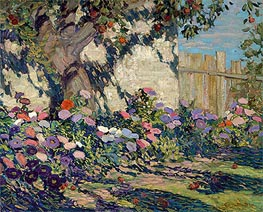 Asters and Apples, 1917 von James Edward Hervey Macdonald | Gemälde-Reproduktion
