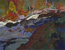 Batchewana Rapid, 1920 von James Edward Hervey Macdonald | Gemälde-Reproduktion