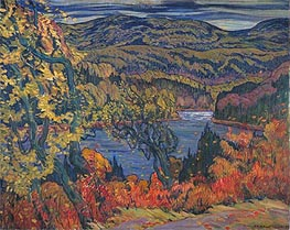 Autumn in Algoma, 1922 von James Edward Hervey Macdonald | Gemälde-Reproduktion