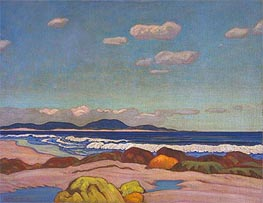 Seashore, Nova Scotia, 1923 von James Edward Hervey Macdonald | Gemälde-Reproduktion