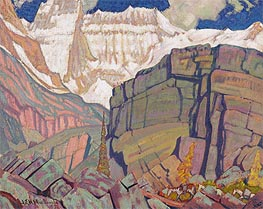 Mount Lefroy, 1932 by James Edward Hervey Macdonald | Painting Reproduction
