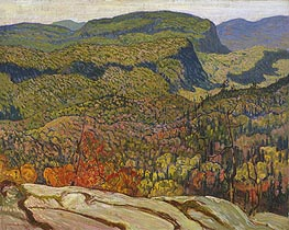 Forest Wilderness, 1921 von James Edward Hervey Macdonald | Gemälde-Reproduktion