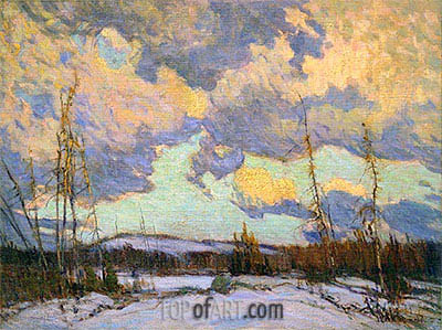 March Evening, Northland, 1914 | James Edward Hervey Macdonald | Painting Reproduction