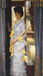 A Portrait (Miss Lloyd) | Joseph Tissot | Painting Reproduction
